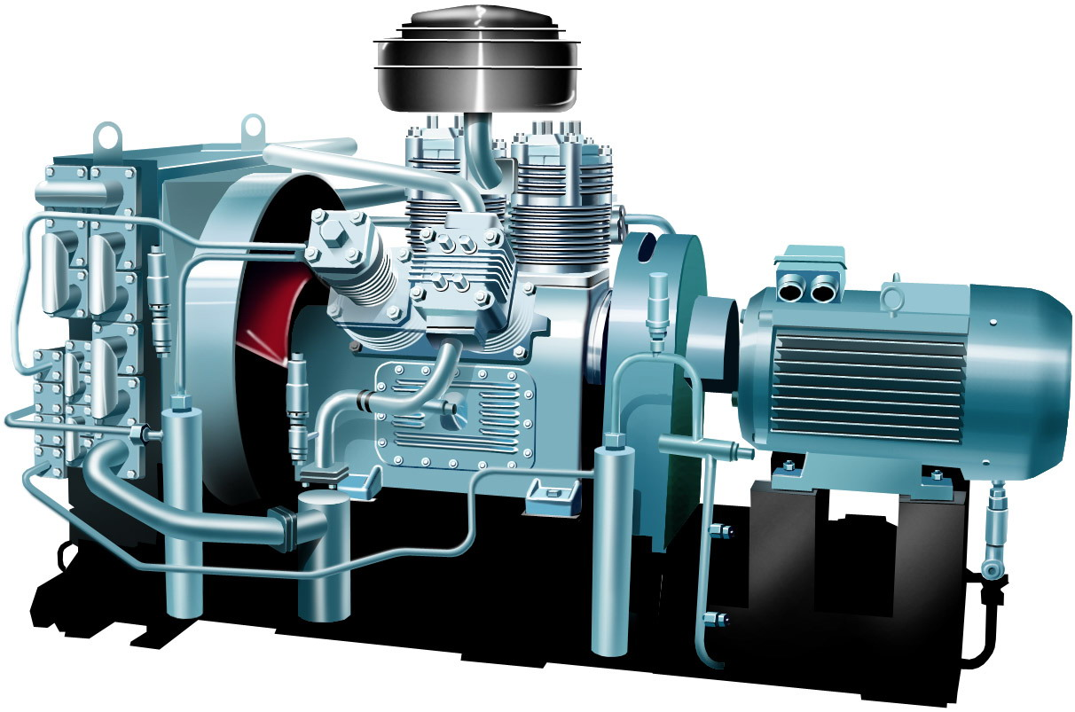 reciprocating compressor Discover the comprehensive range of compressor frames and cylinders in ge's reciprocating compression portfolio to satisfy your operational requirements.